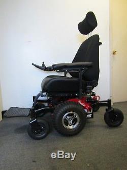 Magic Mobility Frontier V6 Chaise Roulante, Grand Siège, 58.4cm Large. Tous