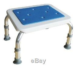 Marche pieds hauteur réglable anti-dérapant anti-corrosion Blue Seat