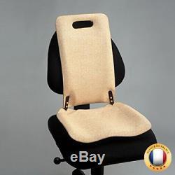 Medesign Backfriend Single padded Oatmeal colour