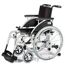 PATTERSON MEDICAL Verb Chaise roulante avec banquette rabattable 46 cm