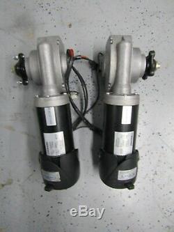 Paire de Permobil M300 Chaise Roulante Moteurs / Engrenages Assemblage