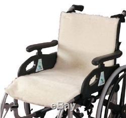 Patterson Medical Revêtement polaire pour fauteuil roulant