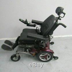 Permobil C350 Chaise Roulante, puissance Inclinaison, Lift, Inclinaison et Jambes