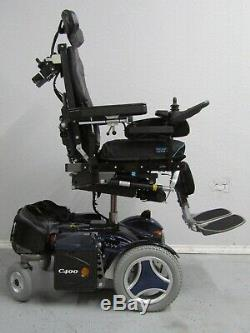 Permobil C400 Chaise Roulante, puissance Inclinaison, Jambes, 8 Lift, Feux &