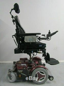 Permobil C500 avec puissance Inclinaison, Jambes et LIFT. 99.8km Only Neuf Piles