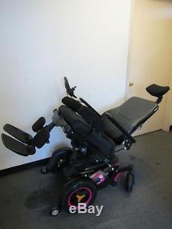 Permobil F3 Chaise Roulante, puissance Inclinaison Inclinaison Jambes et 30.5cm