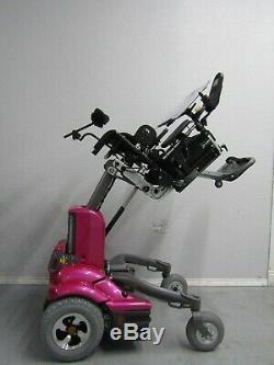 Permobil K450 MX Pédiatrique puissance Chaise Roulante, Tilt, Lift, Grande Low