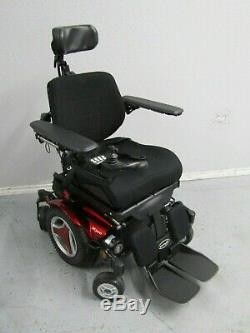 Permobil M300 Chaise Roulante, puissance Inclinaison, Pieds et Levier 41.8km Ne