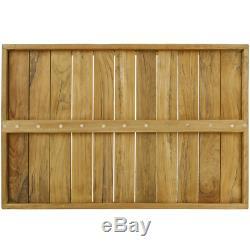 Plateau de bain avec poignées 60 x 40 x 5 cm spa bien-être certifié bois de teck