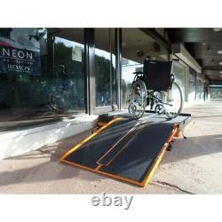 Plateforme pour rampe d'accès amovible 2 marche