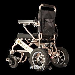 Pli & Voyage Électrique Chaise Roulante Médicale Mobilité puissance Scooter