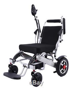 Pli & Voyage puissance Chaise Roulante pour Adultes, Seniors, Électrique 19 Seat