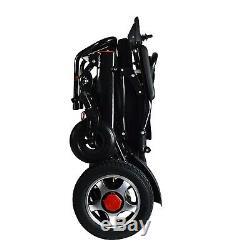 Pliable & Voyage Portatif Résistant Pli Courant Electrique Chaise Roulante pour