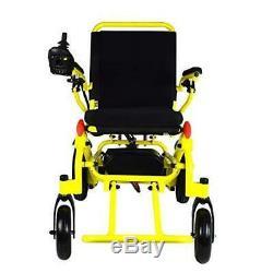 Pliant Léger Électrique puissance Chaise Roulante Médicale Mobilité Aid Motorisé