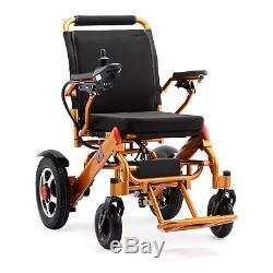 Pliant Léger Roulante Electrique Médical Mobilité Aide Motorisé Blk