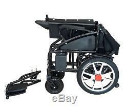Pliant Léger Roulante Electrique Powerchair Scooter Mobilité