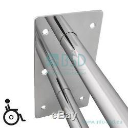 Poignée de sécurité pour lavabo Ø32 mm, acier inoxydable