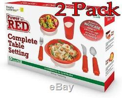 Power Of Red Complet Table Fixation Alzeimer's 1box Paquet de 2
