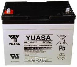 Pride U1 pièce de rechange YUASA REC36-12 12V 36AH CHAISE ROULANTE Batterie