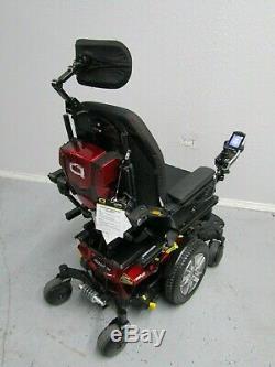 Quantum Bord 2.0 Chaise Roulante, puissance Inclinaison, Inclinaison et Jambes