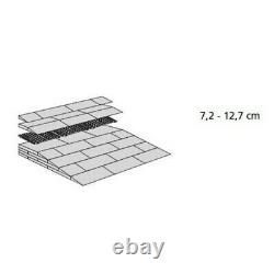 Rampe de seuil modulable ext. De 72 à 127 mm