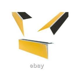 Repérage de contremarches 4 en 1 auto-adhésif pour intérieur jaune longueur 3 m