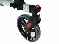 Ridder Rollator de Luxe 4-Rad 4 Roues Rolator Pliable 7,8 KG