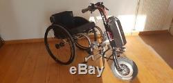 Roue électrique pour tous les fauteuils roulants
