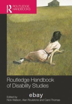 Routledge Manuel De Handicap Studies Routledge Manuels (Livre de Poche)