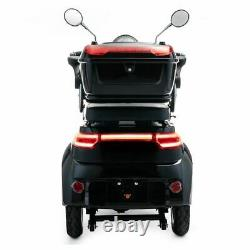 Scooter Électrique 3 Roues Senior/Pour Handicapés 1000W VELECO CRISTAL NOIR