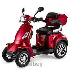 Scooter Électrique 4 Roues Senior/Pour Handicapés 1000W VELECO FASTER