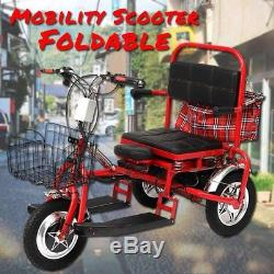 Scooter Electrique Citycoco Pour Seniors Et Pour Mobilité Réduite