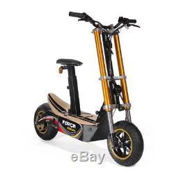Scooter Électrique E-Scooter Trottinette de Ville Roue Libre 45km /H