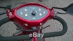 Scooter electrique invacare auriga 10 homologue route personne a mobilite reduit