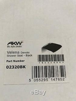 Siège de douche relevable PMR banc tabouret fauteuil VELENA AKW Design NEUF