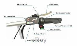 Smartscoot Portable Voyage Mobylette (Poids Seulement 18.1kg) Lithium Batterie