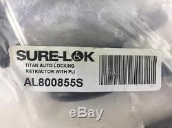 Sure-Lok Al800855s Titan Auto Blocage Enrouleur avec Pli (S #25-4)